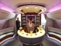 Shisha Lounge On Board the Emirates Airbus A380