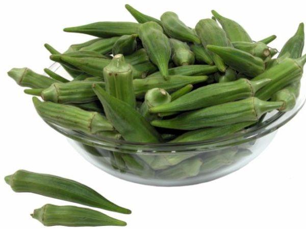 healthy okra stir-fry