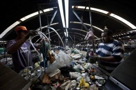 World's largest trash dump