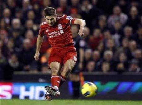 Liverpool's Gerrard