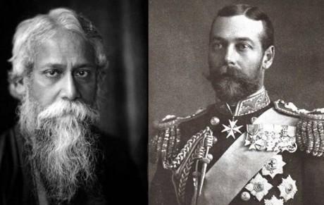 Rabindranath Tagore, King George V