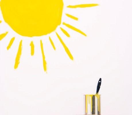 Solar paint