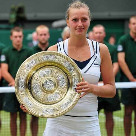 Wimbledon winner Kvitova named Czech Athlete of Year