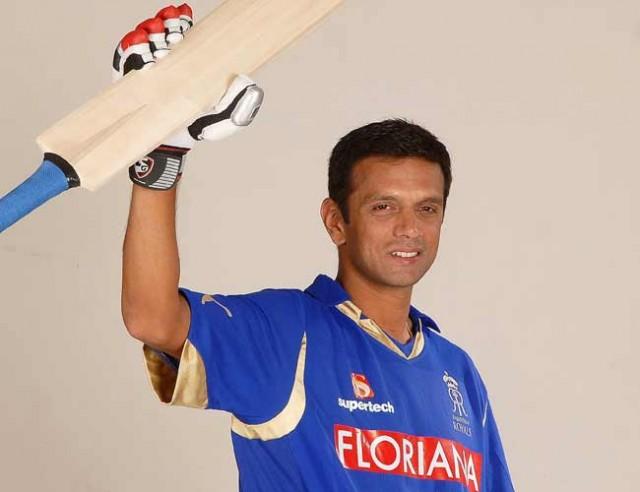 Dravid named new Rajasthan Royals captain