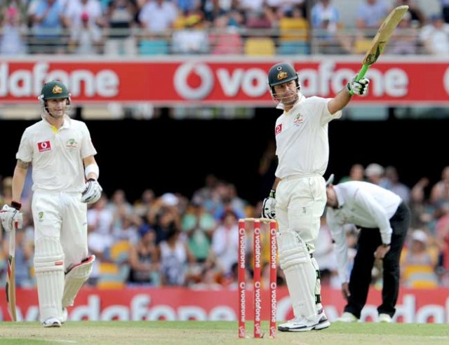 Ponting leads Australian fightback against Kiwis
