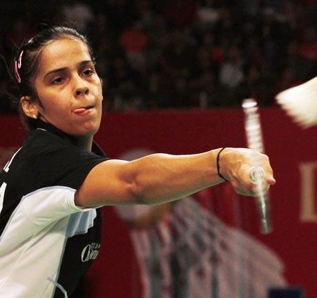 Saina Nehwal in Superseries Finals