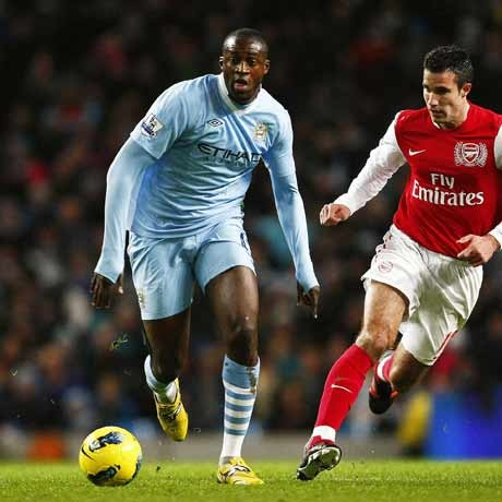 Yaya Toure named African Footballer of Year