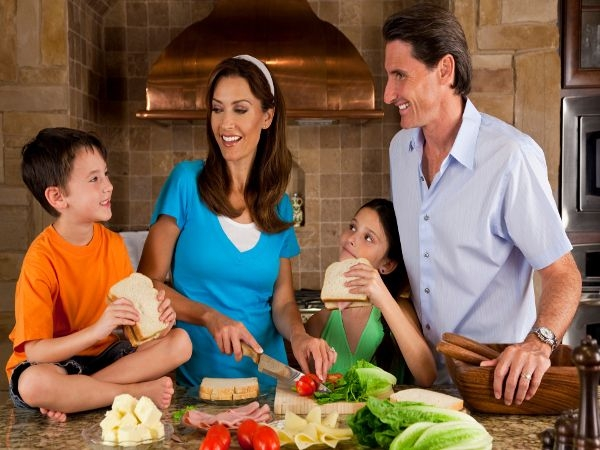 Why Healthy Families Cook Together