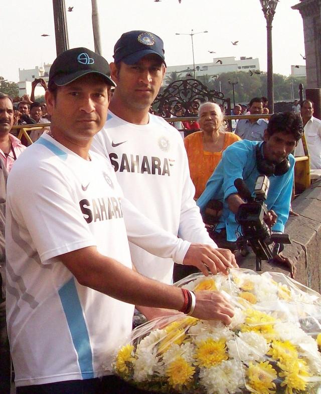 Sachin, Dhoni