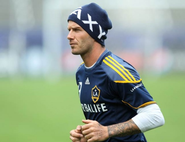 Beckham leads LA Galaxy for Asia-Pacific tour
