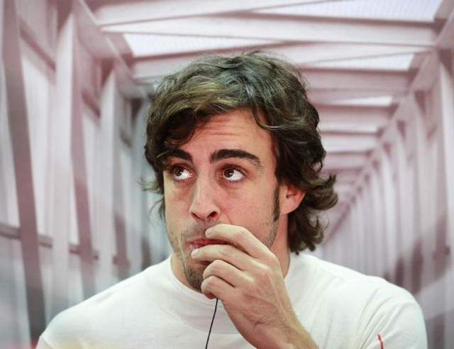 Alonso unhappy with Ferrari performance in Brazil