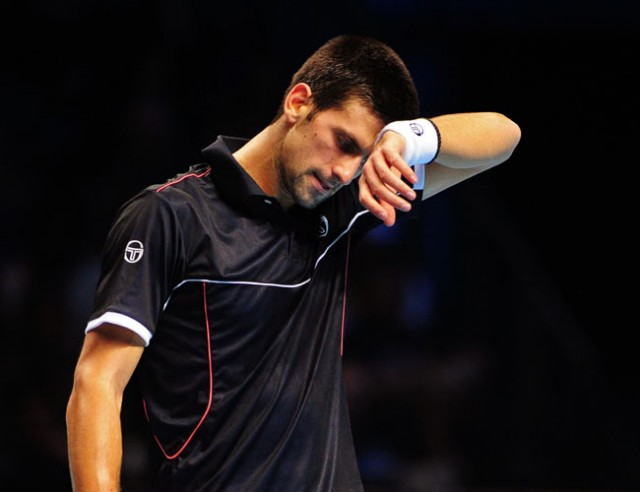 Djokovic suffers