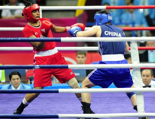 Shorts not skirts, say women boxers