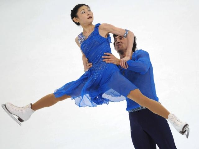 Figure skating: Russian pair win NHK Trophy