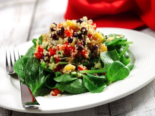 Chef Recipes: Quinoa, Black Bean & Mango Salad