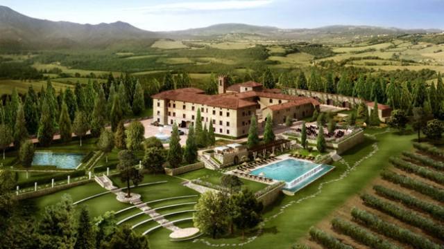 CASTELLO DI CASOLE - Tuscany, Italy