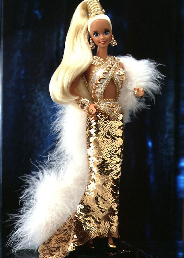 Bob Mackie Gold Barbie