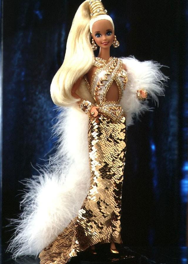 Bob Mackie Gold Barbie