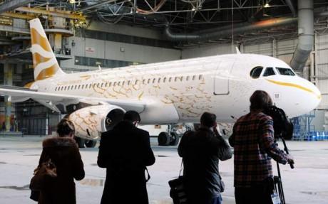 British Airways unveils Olympic 'dove' plane