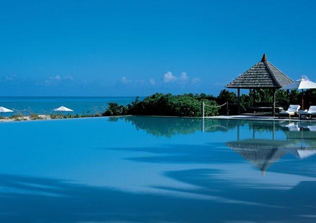Private-island posing: