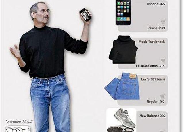 A Steve Jobs-themed gift set