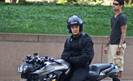 Aamir's Dhoom 3 avatar