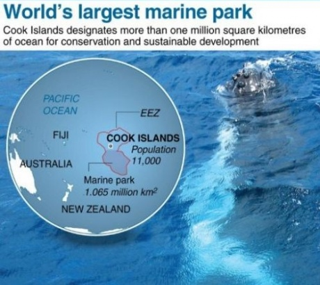 World's largest marine park unveiled