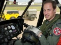 Prince William in chopper saves drowning girl