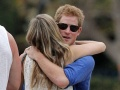 Prince Harry now seen hugging blonde model