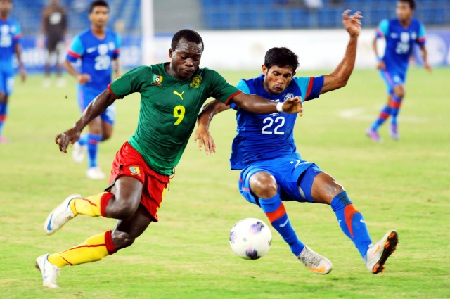 Nehru Cup: Cameroon beat India 1-0