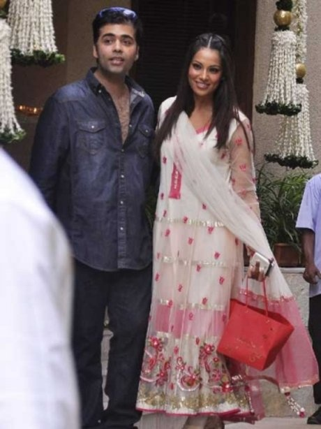 Karan Johar and Bipasha Basu