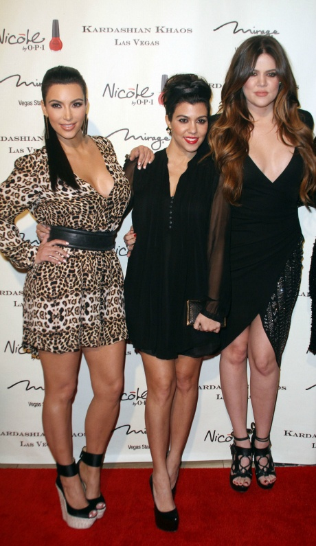 Kim Kardashian, Kourtney Kardashian, Khloe Kardashian