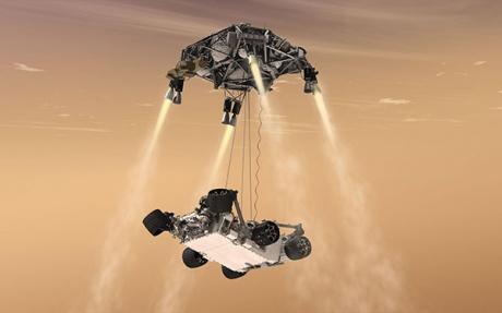 Mars rover Curiosit