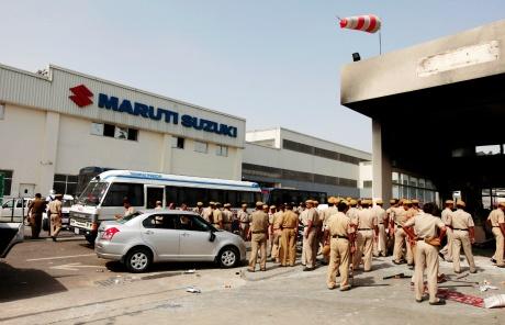 Maruti Suzuki Manesar facility