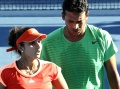 Sania and Bhupathi