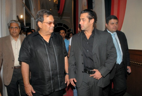 Subhash Ghai and Salman Khan