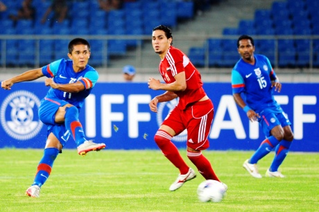 India beat Syria 2-1 in Nehru Cup opener