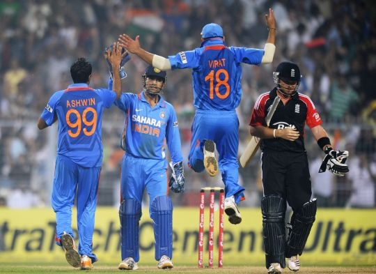 5th ODI, India vs England, October 2011