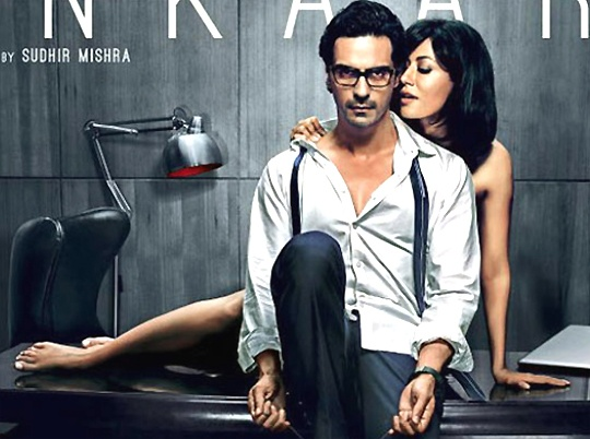 Arjun Rampal and Chitrandaga Singh in Inkaar