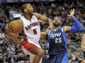 Raptors edge Rockets for first win streak since April
