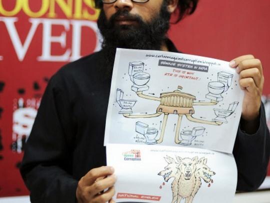 Aseem Trivedi Cartoons