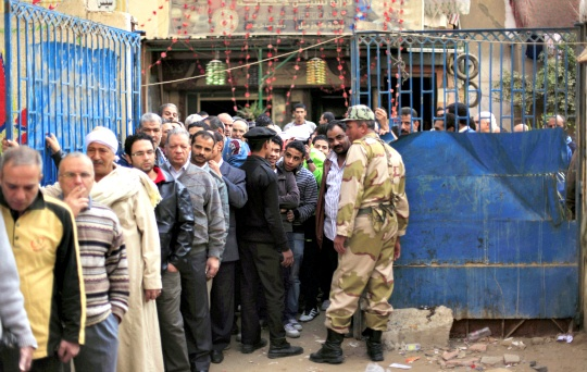 Fear Keeps Egypt's Christians Away from Polls