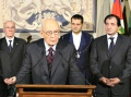 Italian President Giorgio Napolitano