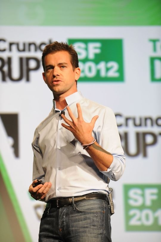 JACK DORSEY, CO-FOUNDER, TWITTER AND SQUARE