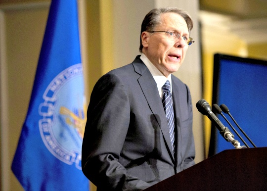 National Rifle Association executive vice president Wayne LaPierre
