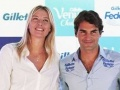 Roger Federer and Maria Sharapova