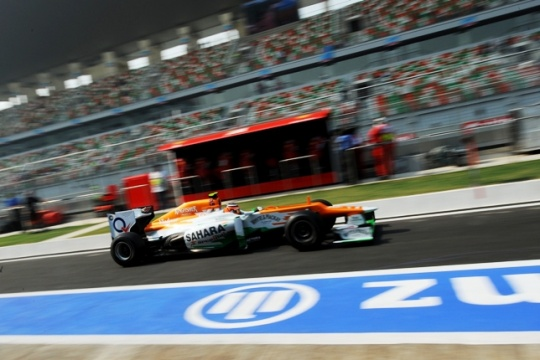 Force India aim for top five spot