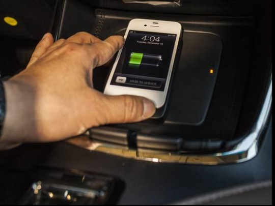 Soon, Charge Your Smartphone Wirelessly in Car