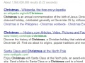 type christmas into google