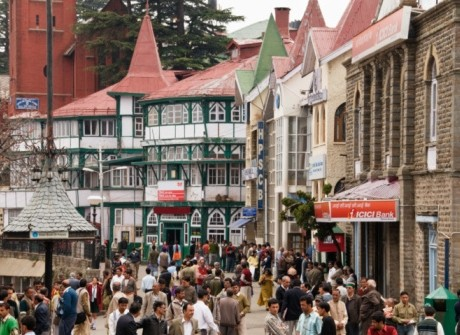 Shimla's 'Scandal Point'